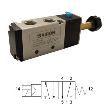 ELECTROVANNE 5/2 MONOSTABLE Mod. EF52M