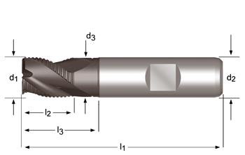 C324 - Fraises d'ébauche