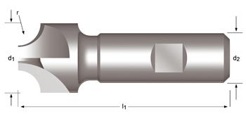 C700 - Fraises concaves