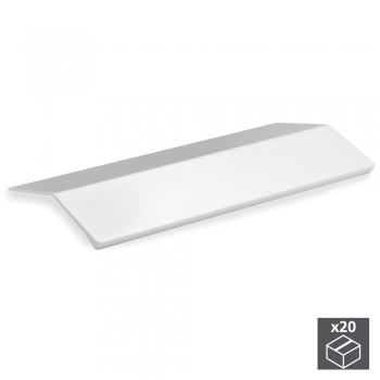 Poignée adhésive pour meuble, 126 mm, Aluminium, Anodisé mat, 20 ut.
