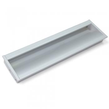 Poignée pour meuble, entraxe 160 mm, Aluminium, Anodisé mat