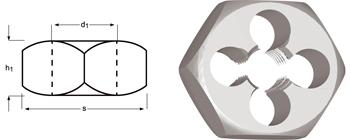 F302 - M Filières hexagonales