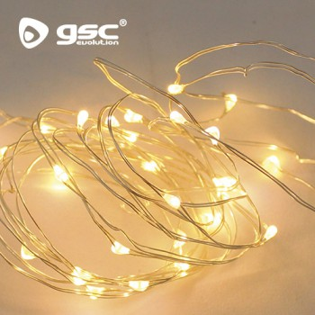 Guirlande Lumineuse LED lumière chaude Ref  5204400-5204405-5204410-5204413-5204418