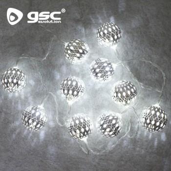 Boules LED argentées Ref. 5204457