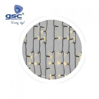 Guirlande LED Rideau Lumineux Ref. 5204474-5204476
