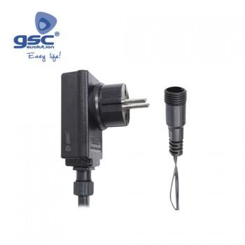 Transformateur fixe pour rideau LED Lumineux Ref. 5204478