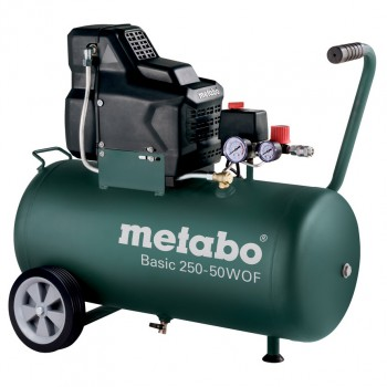 COMPRESSEUR METABO SANS HUILE  Mod. BASIC 250-50 W OF
