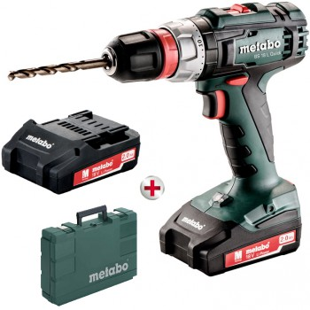 PERCEUSE-VISSEUSE SANS FIL DE 18 VOLTS METABO BS 18 L QUICK