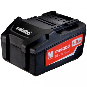 BATTERIE METABO 18 V, 4,0 AH, LI-POWER