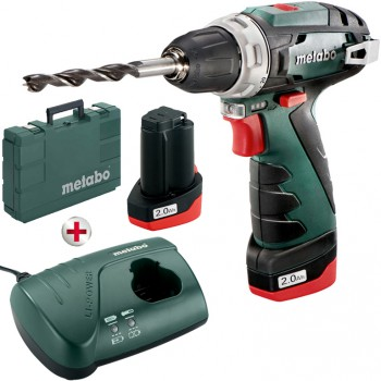 PERCEUSE VISSEUSE  SANS FILS 10,8 VOLT METABO POWERMAXX BS BASIC