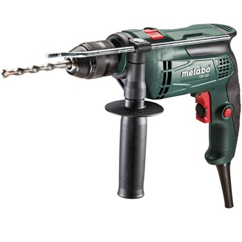 PERCEUSE À PERCUSSION À 1 VITESSE ÉLECTRONIQUE ET 650W METABO Mod. SBE 650