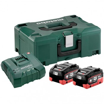 SET BASIC DE 2 BATTERIES LIHD 8,0 AH + CHARGEUR  ASC ULTRA + COFFRET
