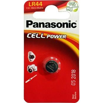 PILE BOUTON PANASONIC LR44 DE 1,5 V.