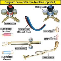 Produits dont coupe acétylène (Option 2)