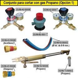 Produit découpe au gaz propane (Option 1)